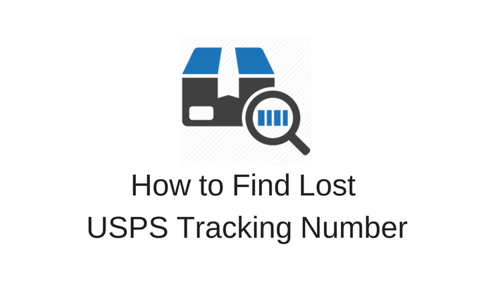 lost usps tracking number