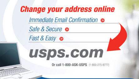 USPS change of Address | USPS Mail Forwarding
